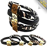 Kini Bands Hair Tie Bracelets (4 Pack) - Elastic Mermaid Ponytail Hair Bands No Crease - For Girls Teens Women - Stylish and Tangle Free - 6.5