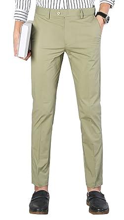 Men's Slim Fit Dress Pants