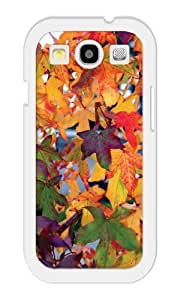 iZERCASE Autumn Leaves RUBBER Samsung Galaxy S3 Case