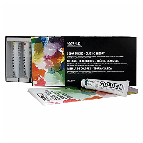 Heavy Body Acrylic Paint Classic Theory Color Mixing