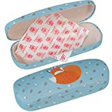 Hardshell Glasses Case & Cleaning Cloth - Choice Of Design ( Rusty The Fox )