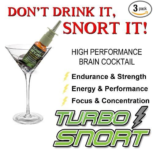 Amazon.com : Turbo Snort Caffeine Energy Nasal Spray - 3 Bottle Deal : Energy Drinks : Grocery & Gourmet Food