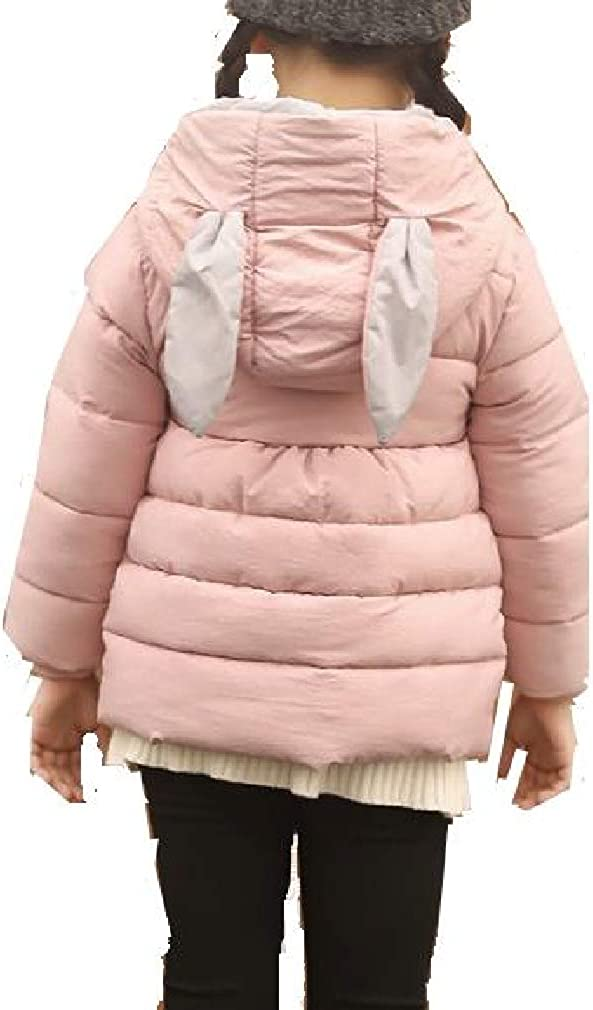 UNINUKOO Unko Mens Contrast Quilted Hooded Thicken Down Coat Parka Puffer Jacket