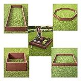 Raised Garden Bed Set Flower Vegetables Seeds Planter Kit Elevated Square Box -Polypropylene