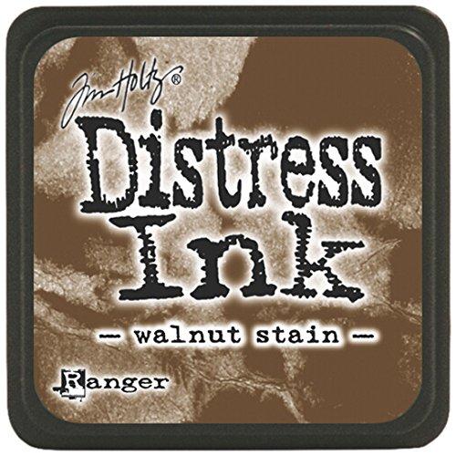 Tim Holtz Distress Mini Ink Pads-Walnut Stain