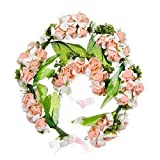 Hairband Flower Crown Headband Floral Wrist Band For Wedding Party