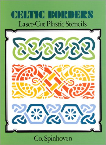 Celtic Borders Laser-Cut Plastic Stencils