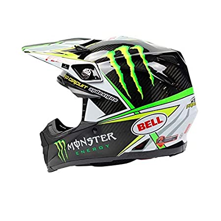Bell Cascos MX 2017 Moto-9 Flex adultos casco, PRO circuito Monster Replica, talla 2 X S: Amazon.es: Coche y moto