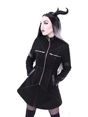 Re Style Geometry Gothic Winter Coat Small