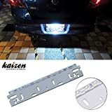 Kaizen Super Bright LED Universal White 12-SMD LED Lamp For Vehicle Truck SUV License Plate Backup Light CAN-bus Error Free Color Temperature 6000K Color Xenon White