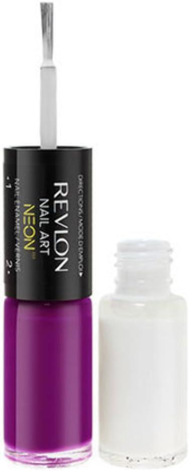 REVLON Nail Art Neon - Ultra Violet