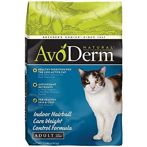 AvoDerm Natural Weight Control Corn Free Formula Cat Food, 1