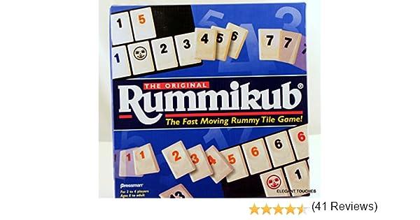 The Original Rummikub - Fast Moving Rummy Tile Game by PRESSMAN TOY CORPORA by PRESSMAN TOY CORPORA: Amazon.es: Juguetes y juegos