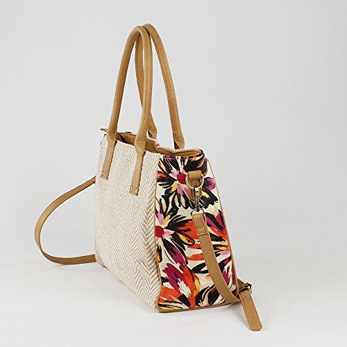 Bag shoulder Women's con Bolso estampado floral Bluebags Bolso estampado floral shoulder Bluebags con Women's Beige EqOqCW