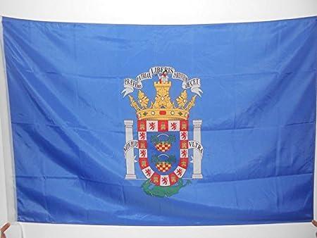 AZ FLAG Bandera de Melilla 150x90cm para Palo - Bandera ESPAÑOLA - ESPAÑA 90 x 150 cm: Amazon.es: Hogar