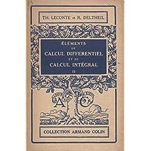 Éléments de calcul différentiel et de calcul intégral tome deuxième