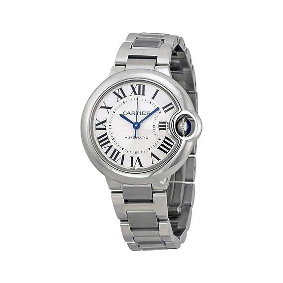 Cartier Ballon Bleu - Reloj (Reloj de Pulsera, Femenino, Acero Inoxidable, Acero