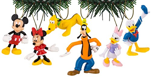 Disney's Mickey & Friends Holiday Ornament Set of 6