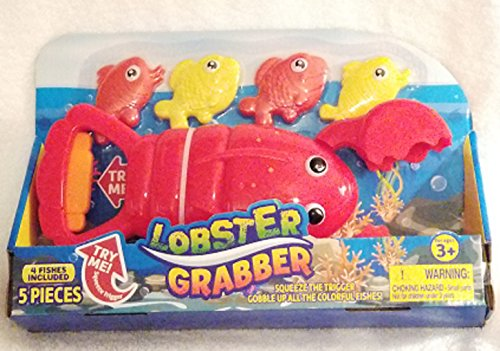 - Dolgencorp Lobster Grabber 5-Piece Gobbler Dive & Catch Set with Bright Colorful Fish Ages 3 and Up