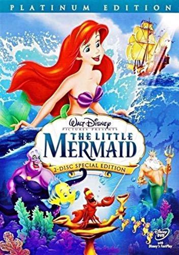 - The Little Mermaid DVD Movie Platinum Edition (2-Disc Set)