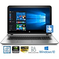 """HP Envy 17S, Core i7-7500, 16GB, Nvidia 940MX 4GB, 17.3"""" FHD Touchscreen Laptop (Certified Refurbished)"""
