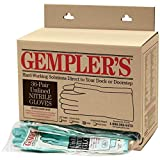 GEMPLER'S Unlined 15-Mil Protective 100% Nitrile Gloves XL (36 Pairs) – Reusable Non-Slip Ergonomic Washable Agricultural Pesticide Chemical Resistance Gloves – Best Fit/Comfort EXTRA LARGE
