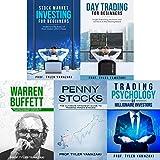 Stock Trading Strategies: 4-Book Bundle - Stock Market Investing for Beginners + Day Trading for Beginners + Warren Buffett + Penny Stocks + BONUS Content: Trading Psychology of Millionaire Investors