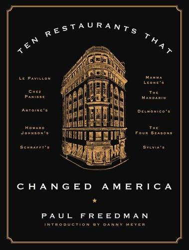 Ten Restaurants That Changed America cover