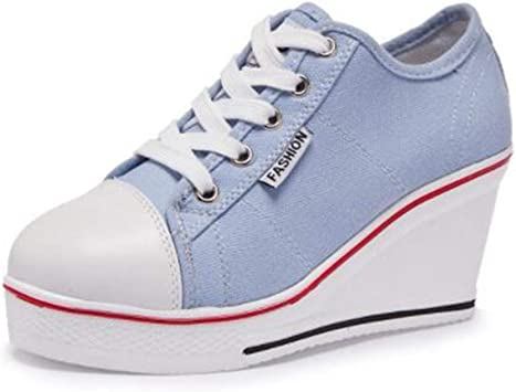DETAIWIN Womens Wedges Walking Sneakers