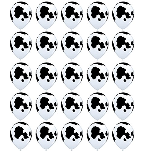 25PCS Sc0nni Funny Cow Print Balloons,For Children's