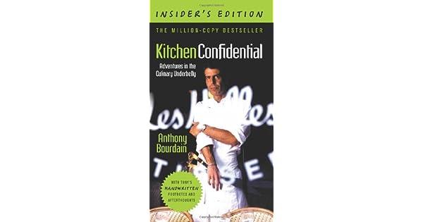 Amazon.com: Kitchen Confidential, Insiders Edition ...