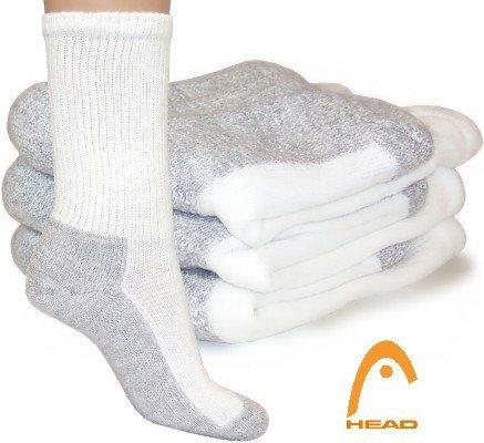 Head 4-Pack Power Fushion High Cushion Sock (White)