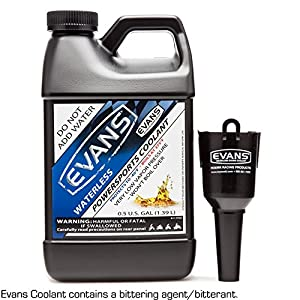EVANS Coolant EC72064 Powersports Waterless Engine Coolant, 32 fl. oz.