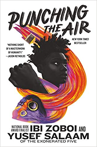 Image result for punching their air book cover