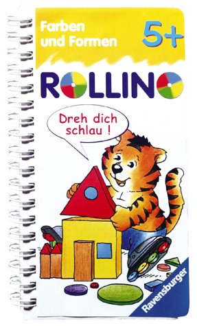 Farben und Formen (Rollino) Taschenbuch – 1. Februar 2004 Stefan Lohr Ravensburger Buchverlag 347341154X Kinderbeschäftigung