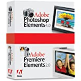 Adobe Photoshop Elements 4.0 Plus Premiere Elements 2.0 [DVD]