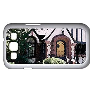 Denver house (Houses Series) Watercolor style - Case Cover For Samsung Galaxy S3 i9300 (White)