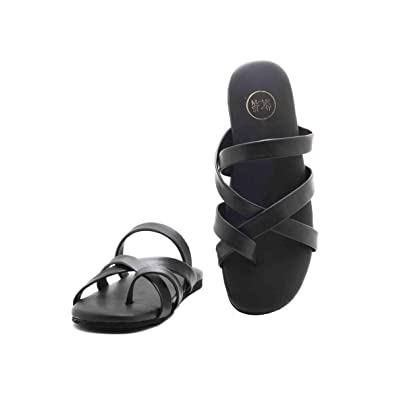 37789c59145f6a Monkstory MS112111 Senta Strappy Sandals Black