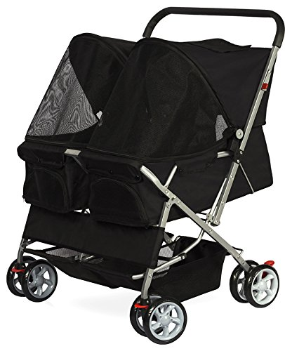 OxGord Double Stroller Household Animals