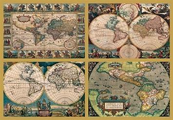 puzzle weltkarte Ravensburger   Historische Weltkarten, 18000 Teile Puzzle: Amazon  puzzle weltkarte