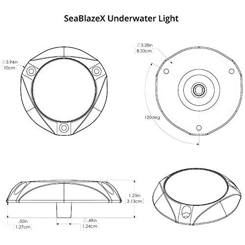 Lumitec Seablazex Undervands Lys Blåt Lys aOug7tmt
