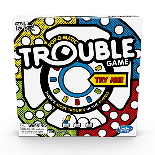 Hasbro   A5064 Games Trouble Game