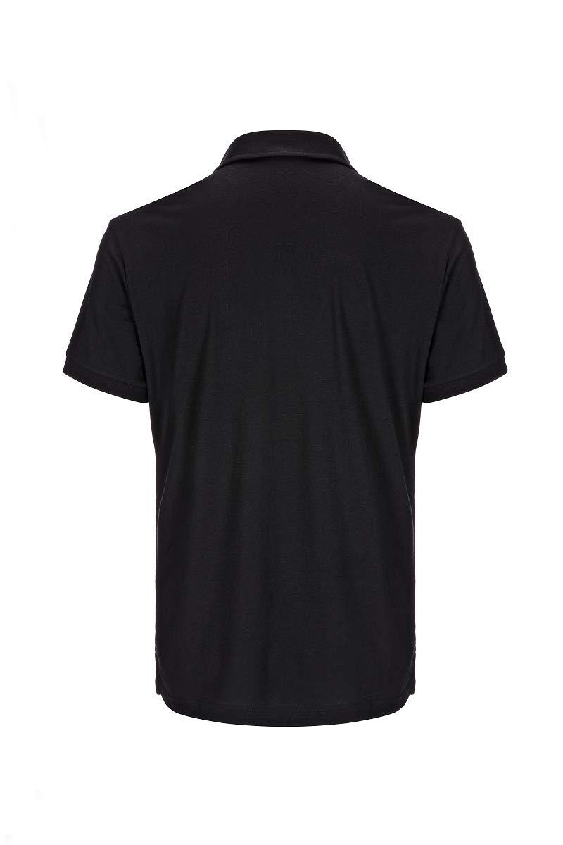 super.natural Herren Polo-Shirt Mit Merinowolle M ESSENTIAL POLO