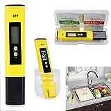 Electric Digital PH Meter,Vovomay Tester Pocket Water Hydroponics Pen Aquarium Pool Test