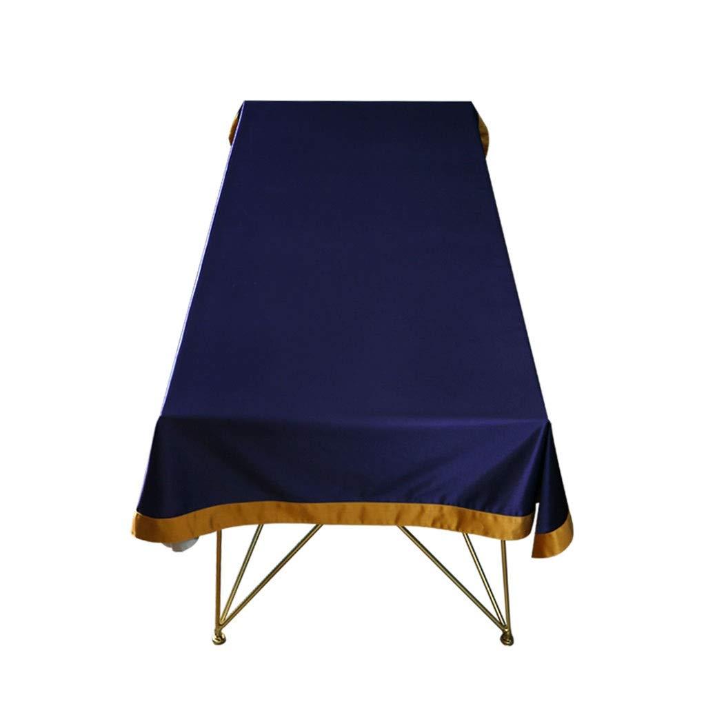GCXZB Rectangular Lavable Poliéster Estampado Manteles,Resistente Al Calor Cosy Decorazione Paño De Mesa for Mesa De Bufé Decoración del Hogar ( Color   azul , Talla   100140cm )