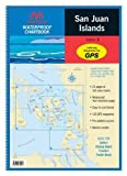 Maptech San Juan Islands Waterproof Chartbooks  , 12 inch  x 17 inch , 23 chart pages