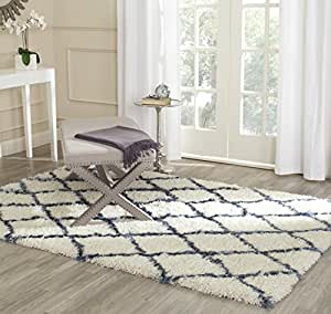Safavieh alfombra marfil kenzie hogar - Alfombras dormitorio amazon ...