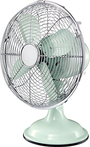Insignia 10 Personal Table Desk Fan Home or Office Air Cooling – Candy Mint