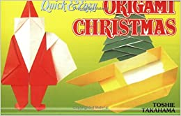 Book Quick & Easy Origami Christmas (Quick & Easy (Japan Publications))