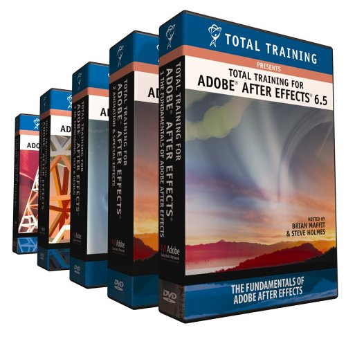 Total Training Adobe After Effects 6.5 Pro Win/Mac [DVD]